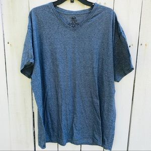 Men's XL Fruit of the Loom Navy Shirt